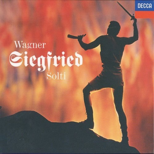 The classic cover of Siegfried on London Records.