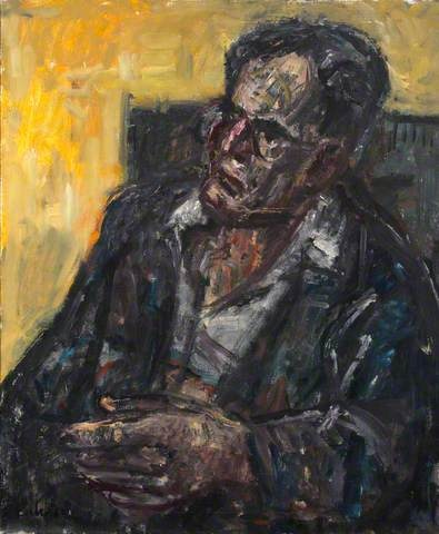 Otto Klemperer's portrait by Georg Eisler.