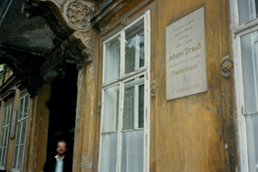 My first days in Vienna were spent in the Flerdemaus Haus thanks to Clara Steuermann.