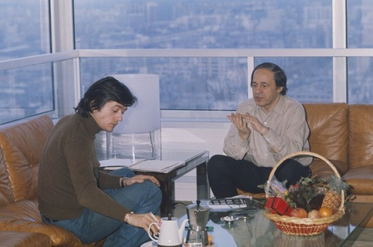 Patrice Chereau and Pierre Boulez discussing Wagner's Ring.