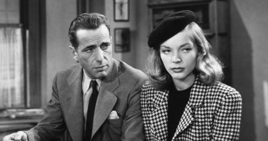 Bogart and Bacall.
