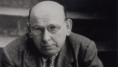 Composer Hanns Eisler, the prime target of the HUAC era.