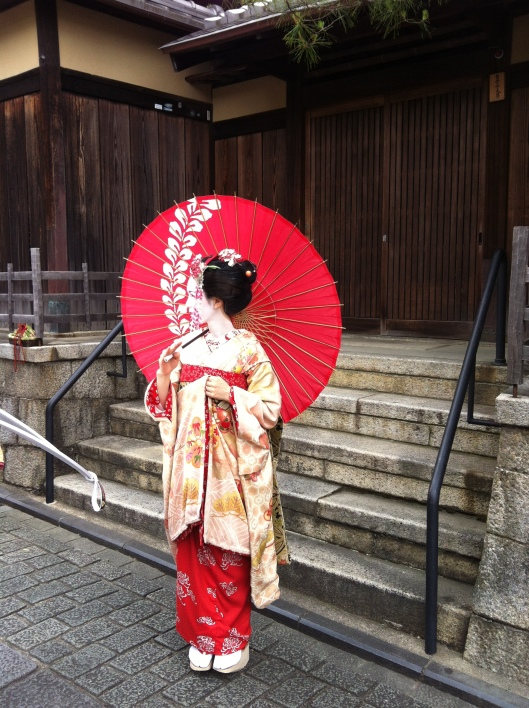 In Kyoto's old Gion.