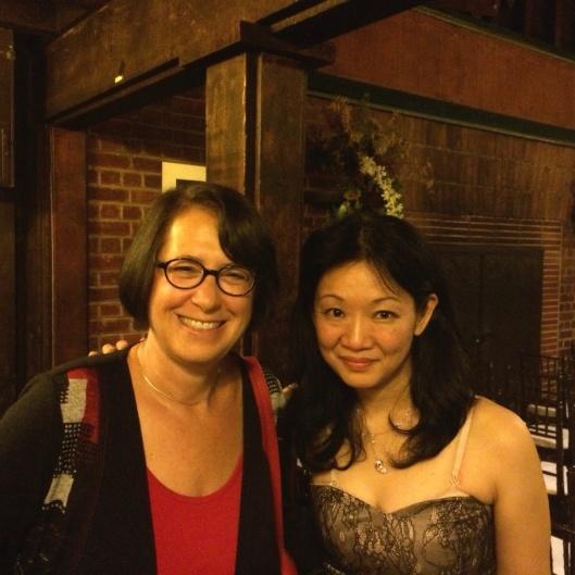 Jan with Momo Kodama.