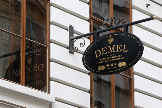 Cafe Demel, home of the world's finest pastries.
