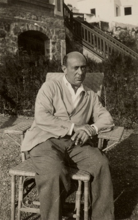 Schoenberg in Barcelona during the composition of Moses and the birth of his daughter Nuria.