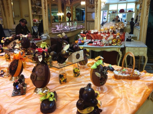 Easter at Auer Chocolates in Nice, France 2011.