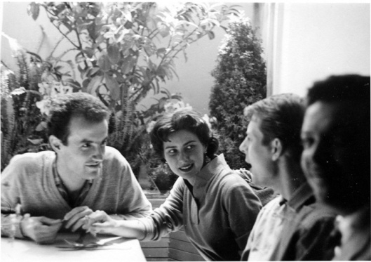 Luigi and Nuria Nono (with Karlheinz Stockhausen).