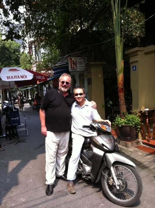 Me and Bao Coc in Hanoi last October.