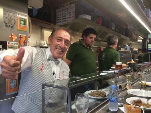 The legendary Juanito Bayen of Bar Pinotxo.