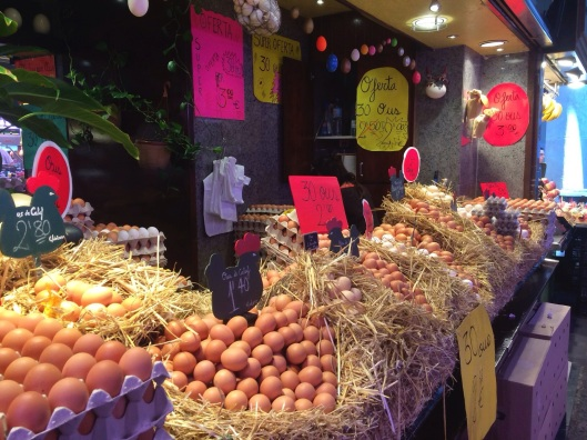 The most beautiful display of eggs in the world.