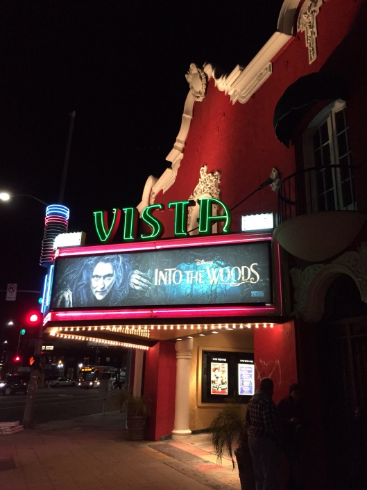 The Vista Theater in Silverlake on Sunset Blvd. is a must for any film fan.
