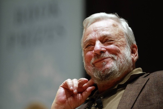 The thoughtful Stephen Sondheim.