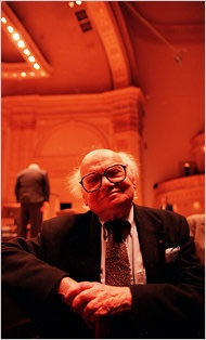 Paradise Found: MIlton at Carnegie Hall before a James Levine performance.