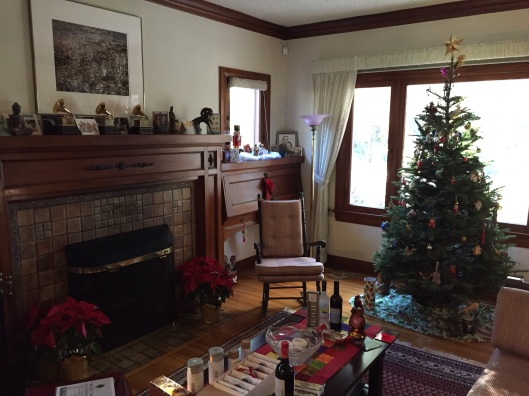 We moved into our small 1920s house the day after Christmas 25 years ago.