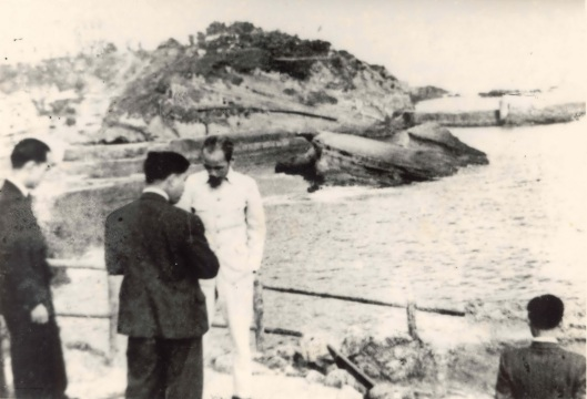 Ho Chi MInh in Biarritz.