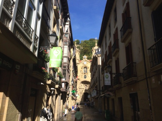 The magical streets of San Sebastian.
