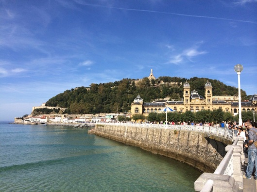 San Sebastian on a clear October day.