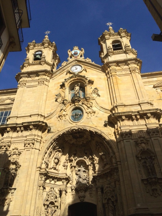 The Cathedral of San Sebastian.