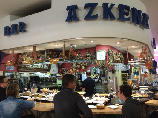 Bar Azkena in the Main Market.