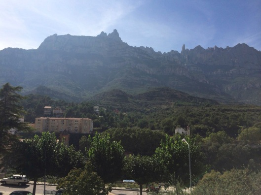 The mountain spires of Montserrat are home to the Holy Grail.