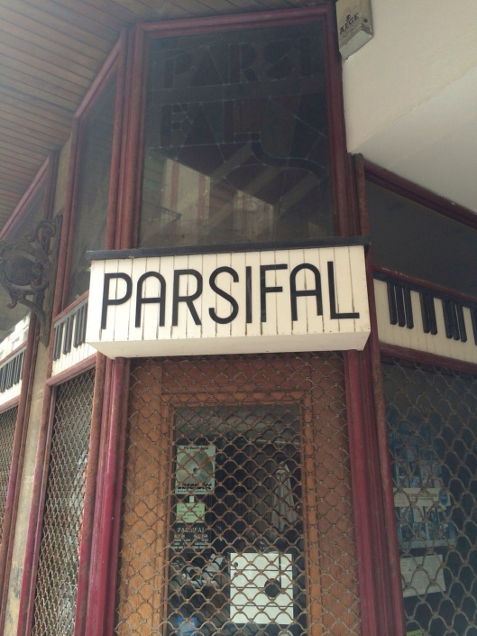 Parsifal the CD Store, not the opera!