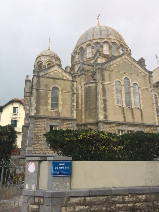 The Russian Orthodox Church of Biarritz.
