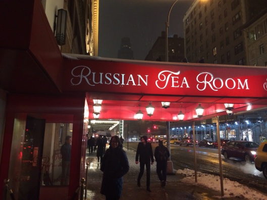 Memories, memories as Jan returns to the Russian Tea Room on 57th St.