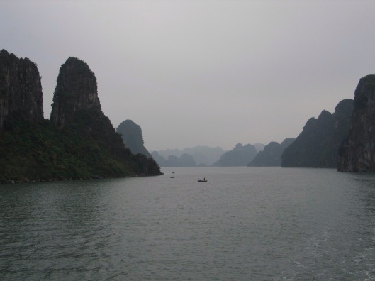 Timeless Asia: Halong Bay in Vietnam.