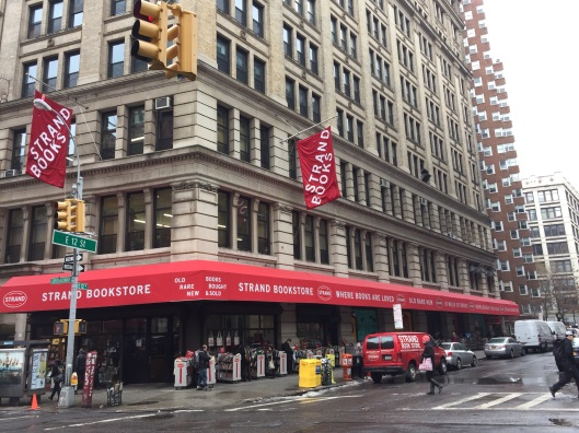 Strand Books and Carter's apartment can both be found on 12th St.
