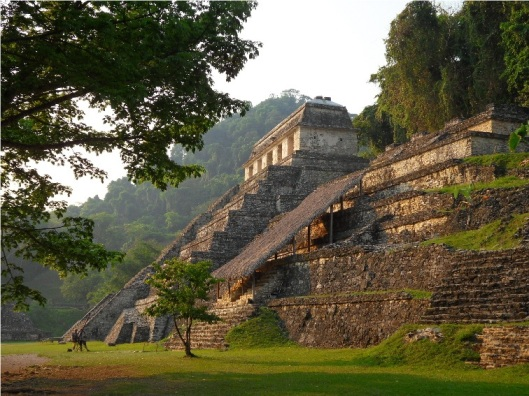 The Mayan world at Palenque inspired Baalkah.