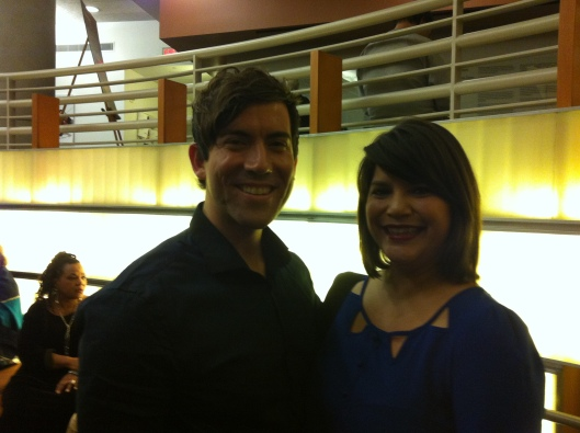 Abdiel Gonzalez and Laura in 2013.