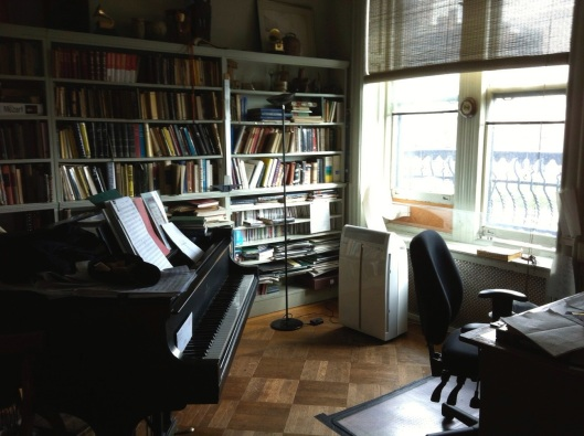 Carter's Greenwich Village work room.