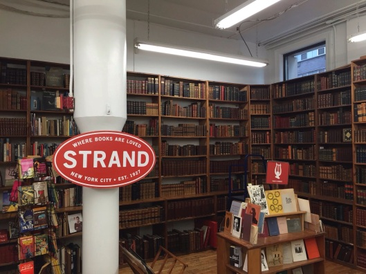 The rare book floor at Strand Books.