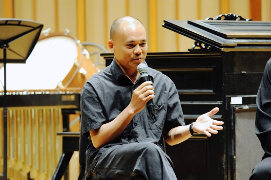 Hanoi's Vu Nhat Tan at our first festival in 2012.
