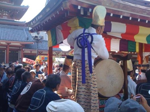 A Matsuri Festival in Tokyo.