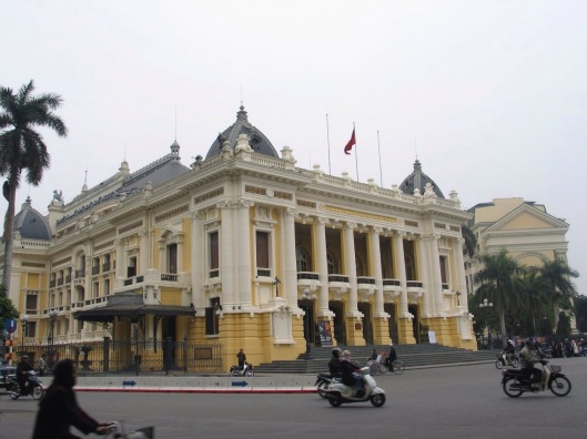 The Hanoi Opera House opened in 1911.