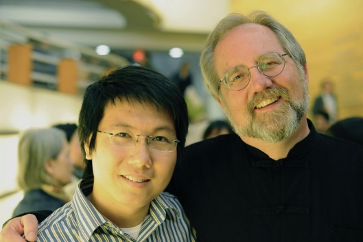 With Pham Minh Thanh in Los Angeles.