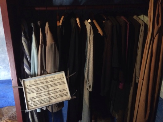 Trotsky's clothes reamain in his closet after the assisination.