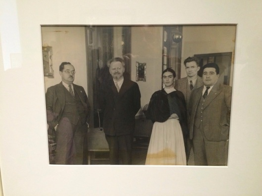 The body language in this photo of Trotsky and Kahlo is priceless.
