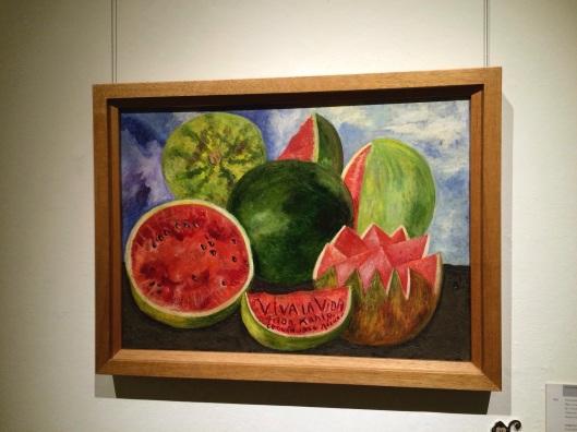 Frida Kahlo's last painting.