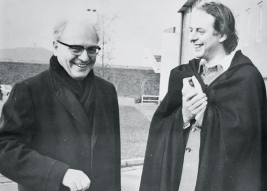 Messiaen and his pupil, Stockhausen, Minh Nhat's favorite composer.
