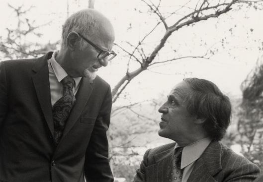 Leonard Stein and Pierre Boulez.