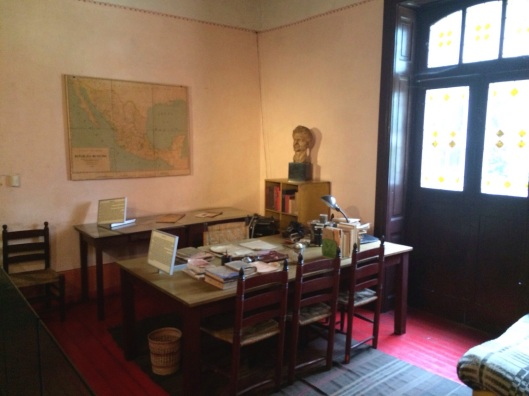 The room where Trotsky was assasinated.