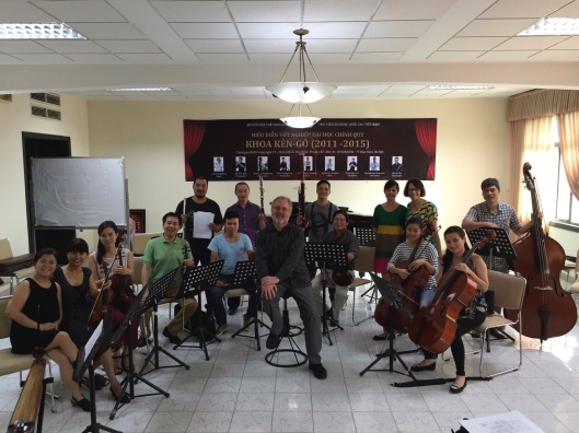 The Hanoi New Music Ensemble.