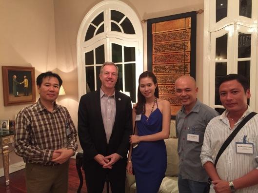 A wonderful evening in Hanoi.