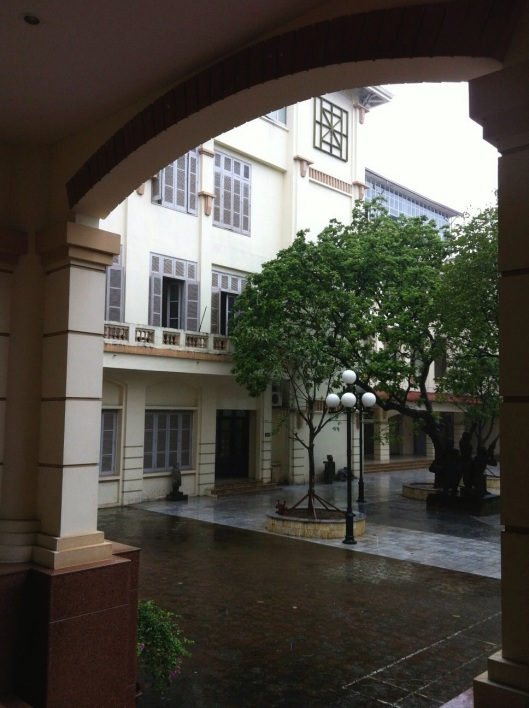 The Hanoi Fine Art School founded by the French.