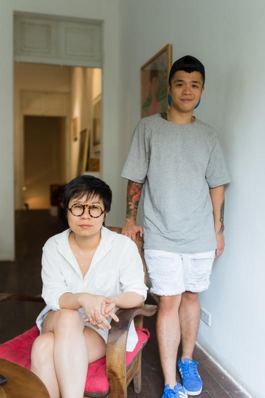 Tram Vu and her business partner Bill Nguyen.