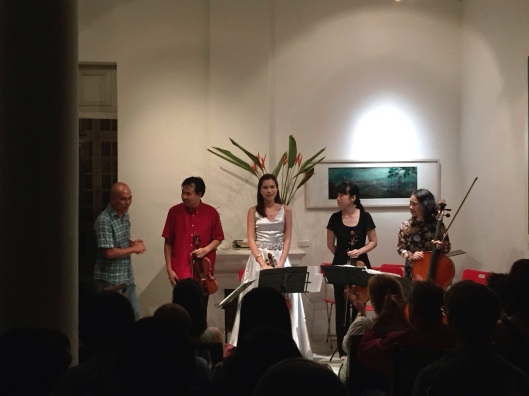 The Song Hong Ensemble with Vu Nhat Tan.