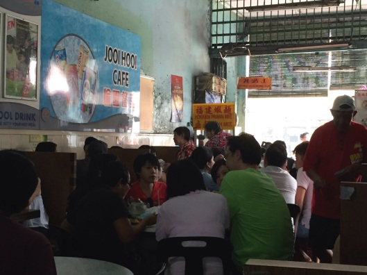 The packed Joo Hooi Cafe is a Soup Paradise.